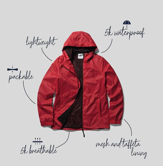 Men′s Waterproof Jacket Summer Raincoat Mountaineering Suit