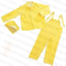 Custom Durable Waterproof PVC Polyester Adult Rain Suit