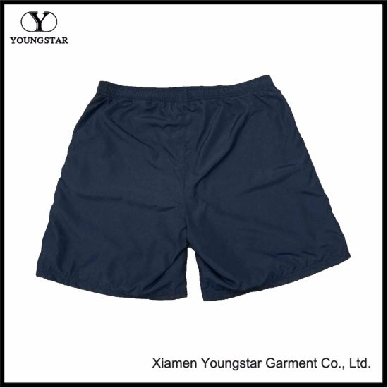 Customized Navy Mens Sports Shorts