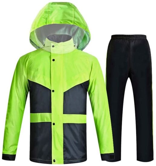 Multifunctional Raincoat Go to Camping Hiking Windproof, Reflective Raincoat as Bicycle Poncho and Outdoor Clothing for Festival, Fishing and Hiking