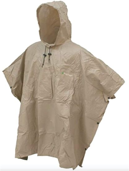 Waterproof Beathable Rain Poncho