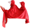 Men Women Rain Poncho Bicycle Rain Jacket Waterproof Packable Raincoats Double Poncho - Red