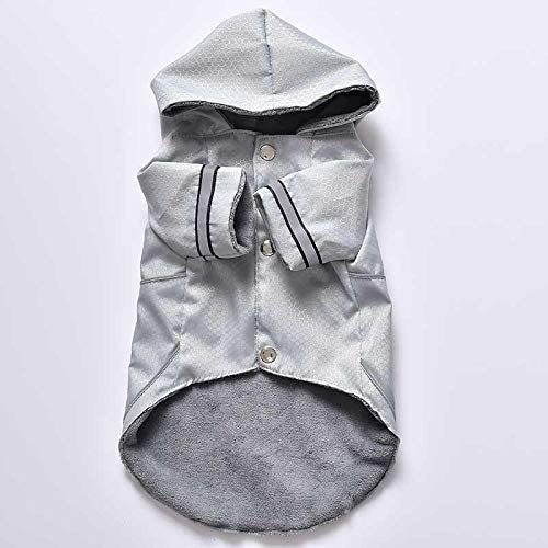 Dog Clothes Windproof, Rainproof and Snowproof Raincoat