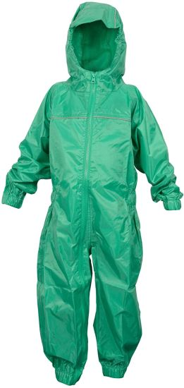 Waterproof Rainsuit, All in One Dry Suit for Outdoor Play. Ideal Outerwear