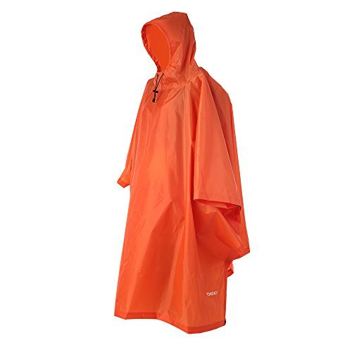Raincoat, Waterproof Camping Tent, Tarpaulin, 3-in-1 Multifunctional Rain Cover for Hunting, Camping, Hiking and Cycling.