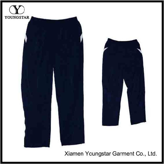 Polyester Men′s Fashion Long Sports Pants / Leisure Trousers
