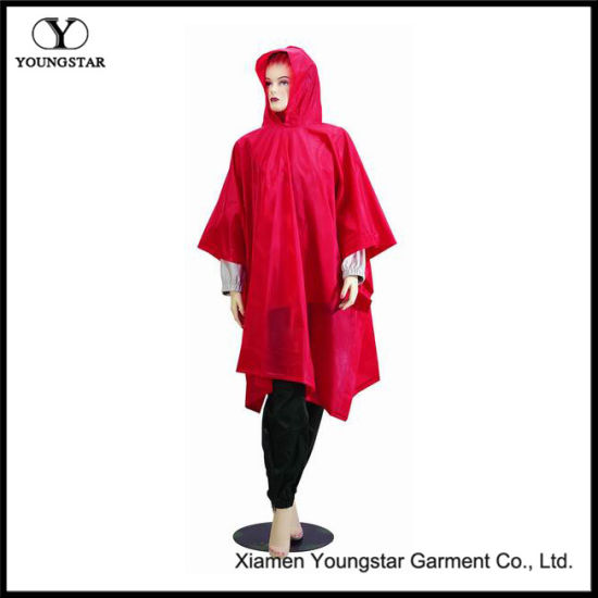 Wholesale Functional PVC Waterproof Long Rain Coat