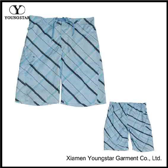 100% Polyester Men′s New Style Board Shorts / Beach Shorts