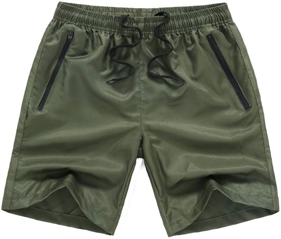 Men′s Swim Trunks Swimming Shorts Quick Dry Boardshorts with Pocket