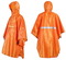 Raincoat Poncho Waterproof Rain Poncho Outdoor Riding Multi-Function Cycling Bicycle Poncho Raincoat Black/Orange