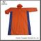 Wholesale Orange Color PVC Raincoat with Hood