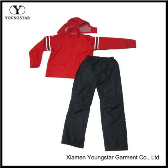 Cheap Men′s Polyester Leisure Sports Suit / Sports Garment